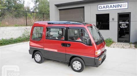 1991 Subaru Sambar Dias2 AWD Supercharged Kei Mini Van ...