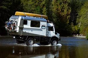 Unimog Expedition Camper Outside Metro Vancouver, Vancouver