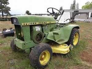 1968 John Deere 112 Lawn  U0026 Garden Tractor Bigiron Auctions