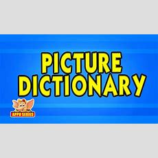Picture Dictionary  Kids  Animation Learn Series Youtube