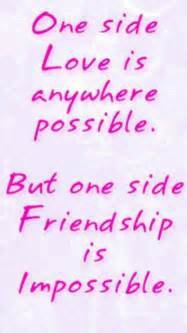 Quotes About One Sided Friendship Brilliant Best Love Quotes For One Sided Lovers  One Sided Love Quotes For
