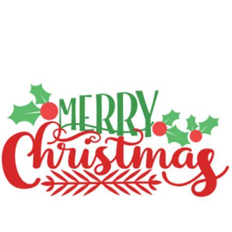Merry Christmas Phrase Svg Scrapbook Cut File Cute Clipart Files For Silhouette Cricut Pazzles