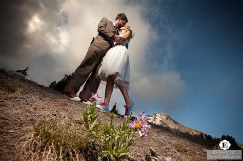 The Shining Wedding At Timberline Lodge