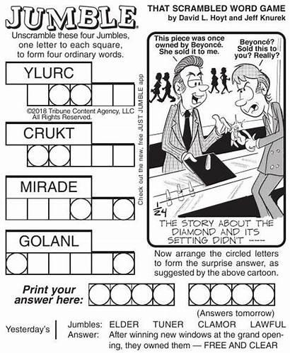 Jumble Puzzles Pdf Comics Poststar