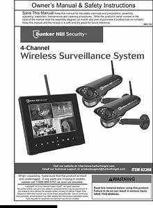 Bunker Hill Security 62368 Owners Manual 822388 Manualslib