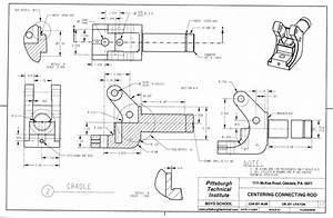 Technical Mechanical Drawing