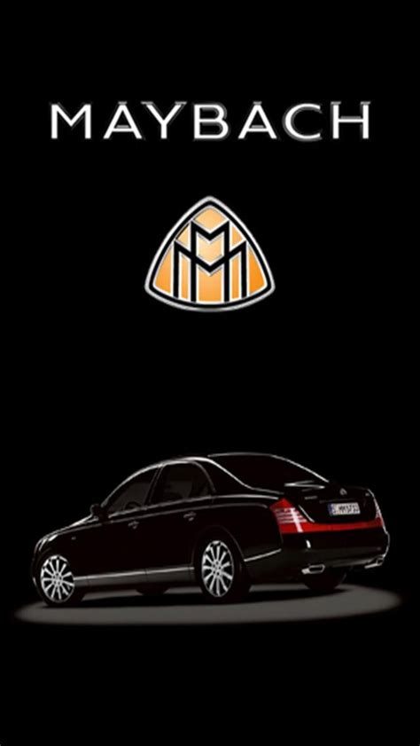 Maybach Logo Iphone Wallpapers, Iphone 5(s)/4(s)/3g Wallpapers