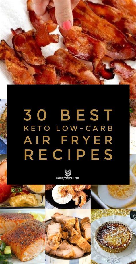 recipes air fryer keto carb low
