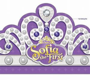 Sofia the first printables free templates to make for Sofia the first crown template