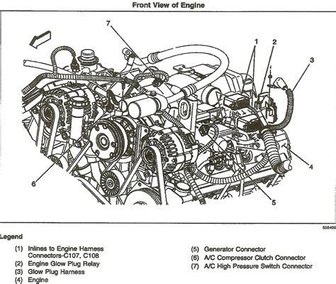 2006 Duramax Diesel Engine Diagram by 2002 Chev Duramax 2500 Hd Gm Part 97371492 Intake Air
