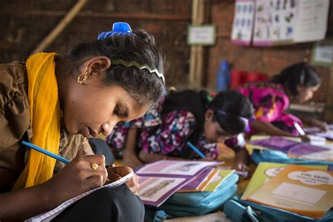 Girls' education   UNICEF