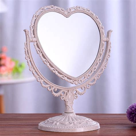Bathroom Mirror Stand by Oval New Vanity Make Up Cosmetic Table