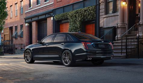 2019 Cadillac Ct6 Vsport Debuts With 550hp  The Torque