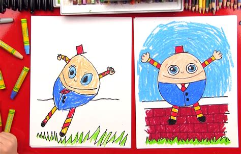 draw humpty dumpty art  kids hub