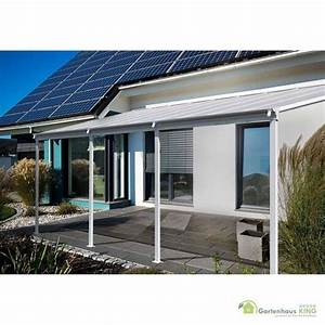Alu terrassen berdachung hd 5 wei gartenhaus for Terrassenüberdachung aus aluminium