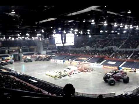 monster truck show rochester ny eradicator monster truck rochester ny 1 7 12 youtube