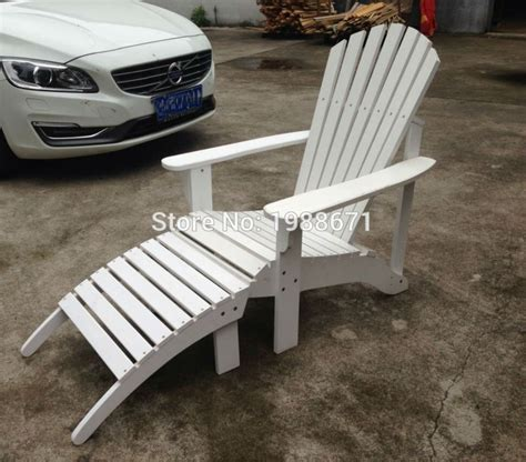 adirondack chairs with pull out ottoman wood patio chair