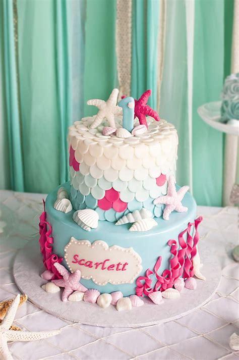 kara 39 s party ideas littlest mermaid 1st birthday party 17 best ideas about mermaid cakes on mermaid