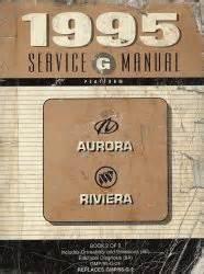 motor repair manual 1995 oldsmobile aurora free book repair manuals 1995 oldsmobile aurora and buick riviera factory service manual 2 volume set
