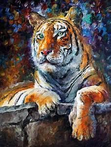 Leinwand Aufhängen Schnur : sibirischer tiger spachtel lgem lde auf leinwand von leonid afremov gr e 30 x 40 ~ Yasmunasinghe.com Haus und Dekorationen