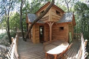 Constructeur Cabane Dans Les Arbres : cabane de la ferme nidperch constructeur de cabane ~ Dallasstarsshop.com Idées de Décoration