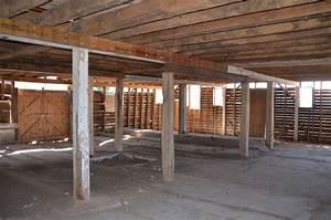 Middlebury Barn Renovation  Reinforcing Beams Before Jacking