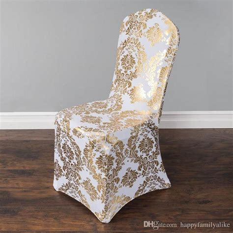 wedding chair cover european gold st chair slipcover special gold silver st high end