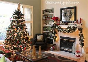 This is the room where we have set up the tree and open