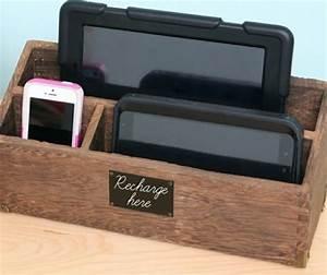 Ladestation Für Handy : diy ladestation f r ihre smartphones und tablets selber ~ Watch28wear.com Haus und Dekorationen