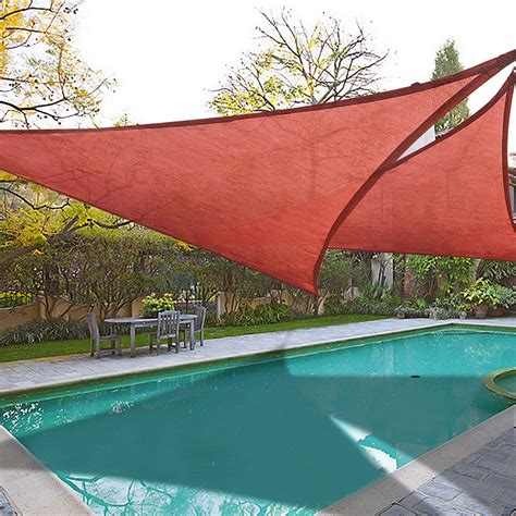 Backyard Sun Shades by 2 Pack Sun Shade Sail Patio Outdoor Canopy Uv Block Top