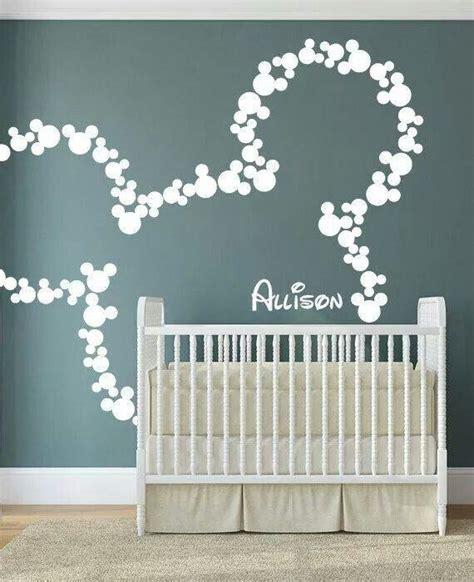 Babyzimmer Gestalten Disney micky maus wandgestaltung babys in 2019 disney