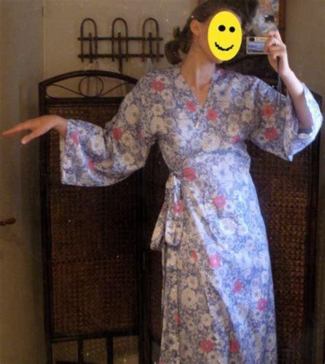 comment faire une robe de chambre comment coudre une robe de chambre