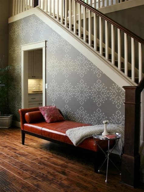 stencil  focal wall hgtv