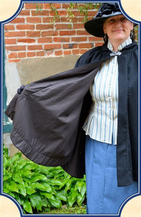 victorian ladies cape