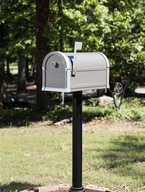 high grove mailbox post mount mailbox gibraltar mailboxes