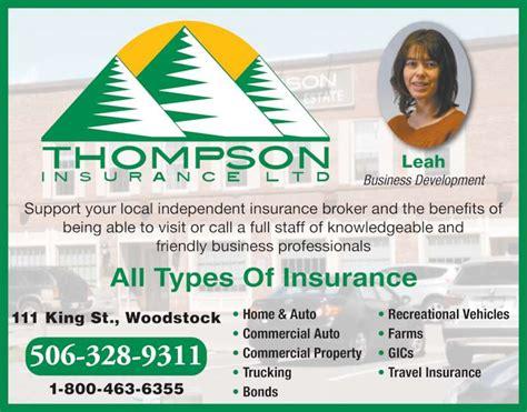Rv Thompson Insurance Ltd