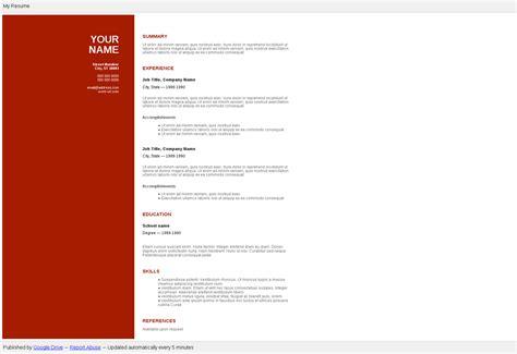 do resume publisher