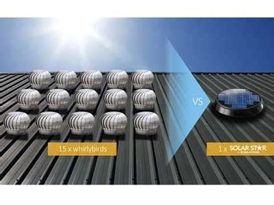 Choosing the right solar roof ventilator   Architecture