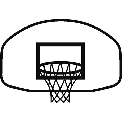 basketball net clipart free basketball hoop picture free clip free