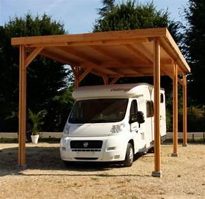 Abri Camping Car Bois : abri camping car tp carport bois nea concept ~ Dailycaller-alerts.com Idées de Décoration