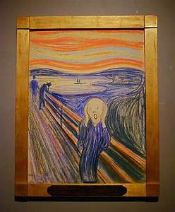 """The Scream"" de Munch expuesto en el MoMa – Historias de ..."