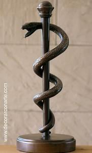 Serpiente Asclepios 30 cm Venta de figuras de decoración