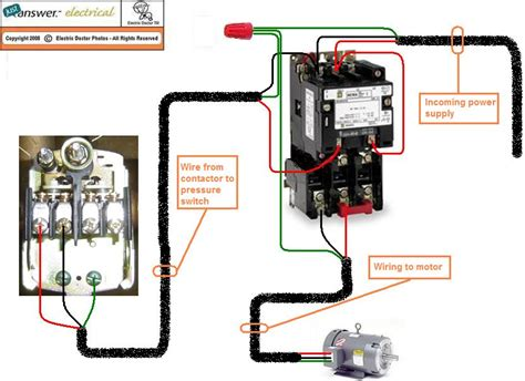 Magnetic Contactor Wiring Diagram by Magnetic Contactor Wiring Connection