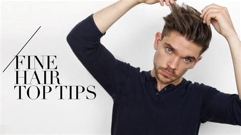 tips  guys  fine hair  swear   youtube