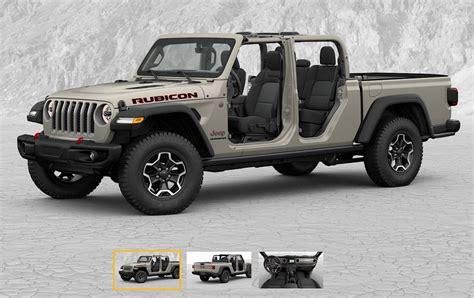 jeep gladiator build price configurator