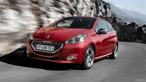 Peugeot 208 Backgrounds by 2013 Peugeot 208 Gti Front Hd Wallpaper 2 1920x1080