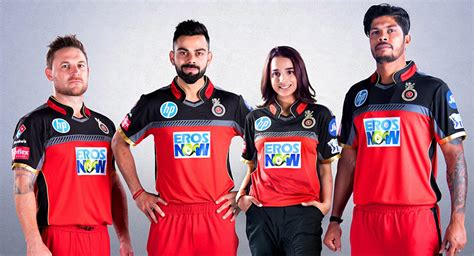 bollywood meets cricket eros  joins rcb  title