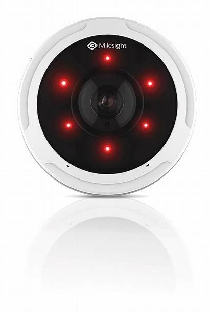 Camera Milesight Ir Fisheye 12mp Smart Enables