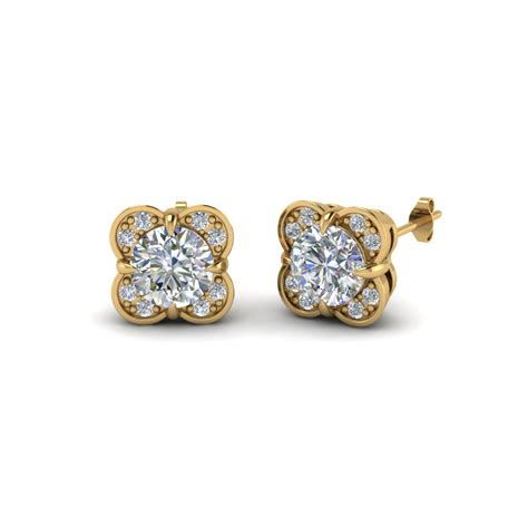 flower studs stud earrings for www pixshark