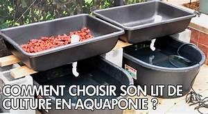 Comment Choisir Son Lit : comment choisir son lit de culture en aquaponie aquaponie ~ Melissatoandfro.com Idées de Décoration